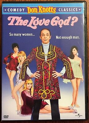 Pre-Owned The Love God? (DVD, 1969) Don Knotts Comedy Don Knotts Classics