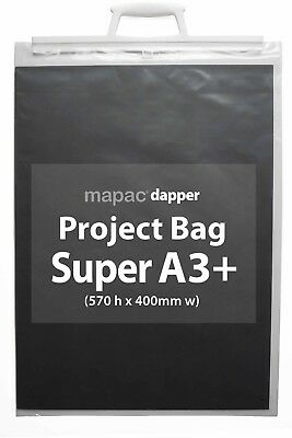 MAPAC - dapper Project Bags - A4+ and Super A3+ with hanging hooks - BUY 3 GET 5