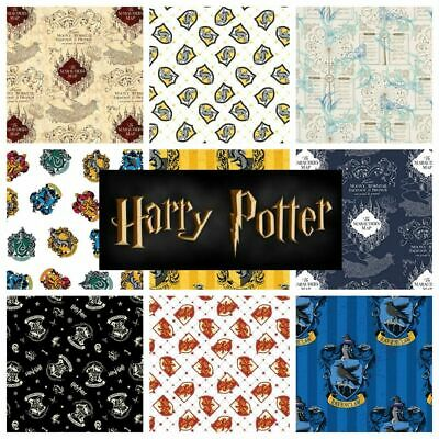 Harry Potter 100% Cotton Fabric by CAMELOT *sold per fat quarter* BACK IN STOCK