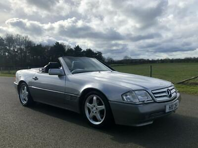 1990 Mercedes-Benz 300 SL 24V Auto Last Owner 5 Years 19 Mercedes Service Stamps