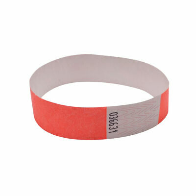 Announce Wrist Band 19mm Coral (Pack of 1000) AA01833