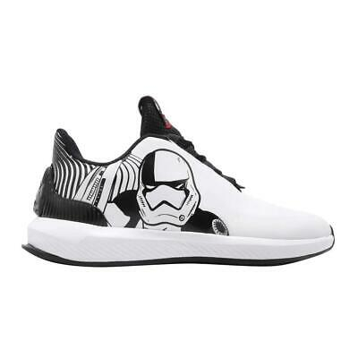 NEW Adidas Kids' Unisex Athletic Star Wars Rapidarun Lace-Up Running Shoes
