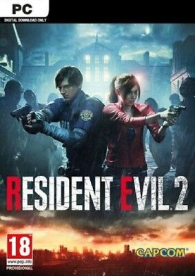 RESIDENT EVIL 2 BIOHAZARD RE 2 per PC - ITALIANO ORIGINALE - STEAM ACCOUNT