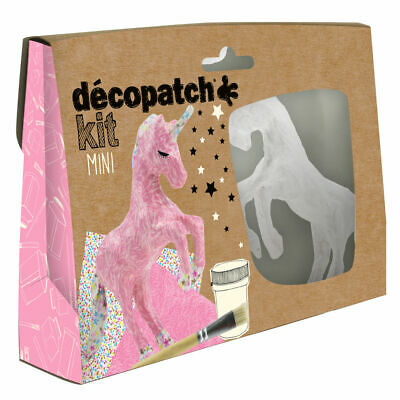 Decopatch Mini Kit Unicorn (Pack of 5) KIT009O