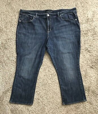 7860a4286ab ROCK   REPUBLIC Womens Plus Size 24W Cropped Skinny Jeans Kendall 25.5