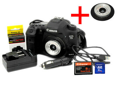 Canon EOS 7D Mark II 20.2MP Digital SLR Camera Body+bonus Triplet pancake lens