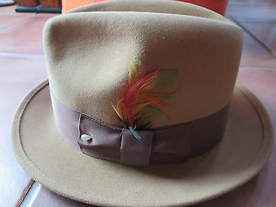DYNAFELT WATER REPELLENT FUR BLEND COWBOY HAT WPL 5923 - Size  6-7 8 ... a86dab2f4920