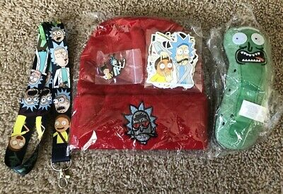 RICK AND MORTY Merchandise Bundle - 39 Pieces. BRAND NEW - GREAT DEAL