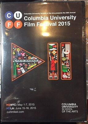 Columbia University Film Festival 2015 DVD CUFF 2 disc Brand New Free Shipping