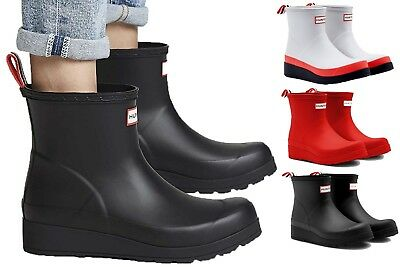 1db43836067 NEW HUNTER WOMEN'S Original Play Short Rain Boots Waterproof Slip On Ankle  Boots