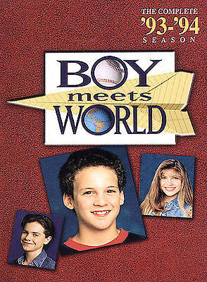 Boy Meets World - The Complete First Season (DVD, 2004, 3-Disc Set)