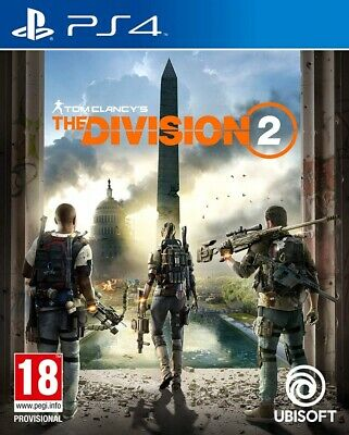 Tom Clancys The Division 2 PS4 Spiel NEU OVP Playstation 4 Tom Clancy´s