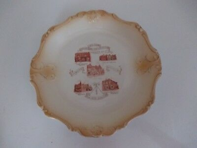 Rare Boldon Industrial Cooperative Society Ltd Jubilee Plate June 1873-June 1923