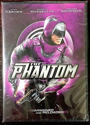 Brand New THE PHANTOM: Evil Has A New Enemy (DVD, 2010) Factory Sealed