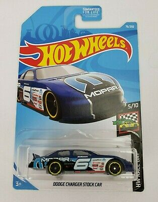 2019 Hot Wheels HW Race Day NASCAR Dodge Charge Stock Car New Sealed