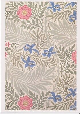 """Job Lot / Class Pack of William Morris Greetings Cards (Blank) """"Larkspur""""  NEW"""
