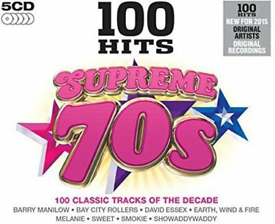 100 Hits - Supreme 70s  ( 5 cd set ) New & sealed