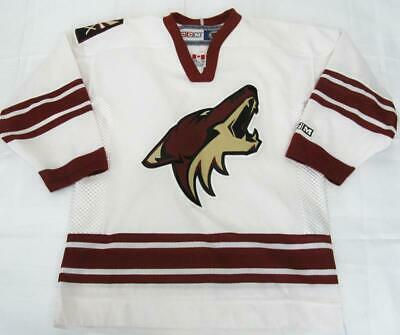 d00281314 VINTAGE PHOENIX COYOTES Jersey Youth L XL CCM New NHL EUC -  35.00 ...