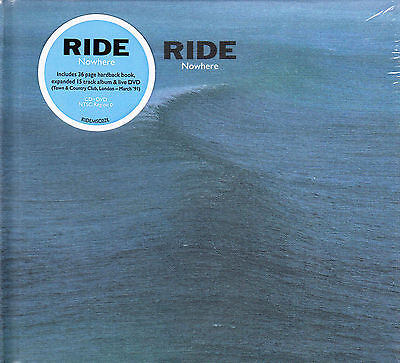 Ride Nowhere & Town And Country Club'91 2015 Gb Deluxe CD + Coffret DVD Neuf /