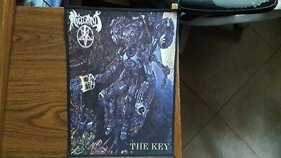 Nocturnus ,the Key,sew On Sublimated Large Back Patch