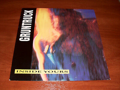 Gruntruck ‎– Inside Yours LP Germany 1990 Musical Tragedies – MT-110 1st Edition