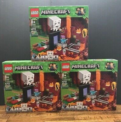 21143 LEGO Minecraft Notice Instruction NEUF NEW The Nether Portal