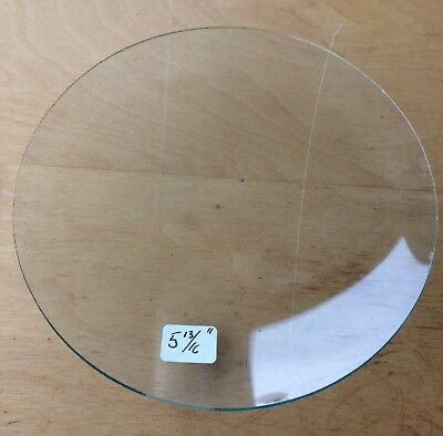 """Vintage Grandfather / Mantle Clock Convex Replacement Glass 5 13/16"""" 147.6mm"""
