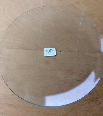 """Vintage Grandfather / Mantle Clock Convex Replacement Glass 5  7/8"""" 149.2mm"""