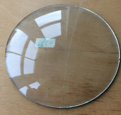 """Vintage Grandfather / Mantle Clock Convex Replacement Glass 4  1/2"""" 114.3mm"""
