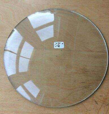 """Vintage Grandfather / Mantle Clock Convex Replacement Glass 7 11/16"""" 195.3mm"""