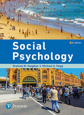 PDF Social Psychology eBook 8th Edition By Graham  Vaughan, Michael  Hogg