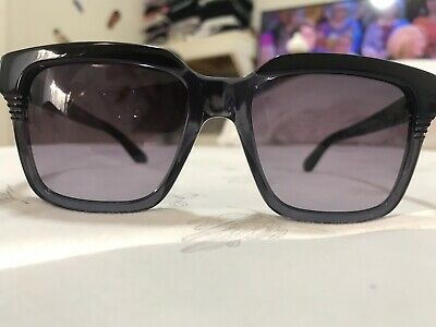 1ad8fb2c7771 New Marc By Marc Jacobs Sunglasses Mmj 388/s 99O-Hd Black Gray Authentic