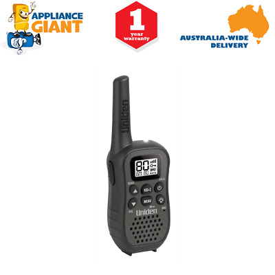Uniden UH45 80 Channel UHF CB Handheld Radio (Walkie-Talkie) with Kid Zone