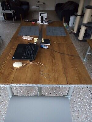 Industrial Dining Table 8ft x 3ft