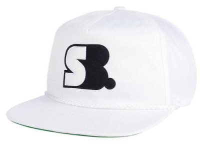 65f9bb6473d Nike SB Dri-Fit Polyester White Snapback Cap Hat Skateboard New W Tags!