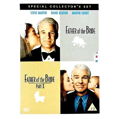 Father Of The Bride 1 & 2 Special Collectors Set DVD Box Set Mint Steve Martin
