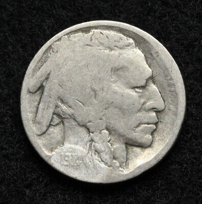 Buffalo Nickel, 1914-D, Key Date, Price per coin
