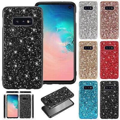 For Samsung S10 5G S9 Plus S8 S7 Case Bling TPU Gel Rubber Slim Shockproof Cover