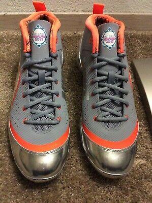 DS Promo Sample Nike Air 2017 MLB All Star Trout Cleats Sz 10 Gary Sanchez  PE 4e22a3232
