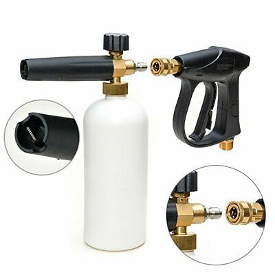 "1/4"" Pressure Snow Foam Lance Jet Car Wash Adjustable Lance Soap Spray Cannon"