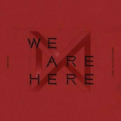 MONSTA X - WE ARE HERE [Random ver.] CD + Photo card + Poster