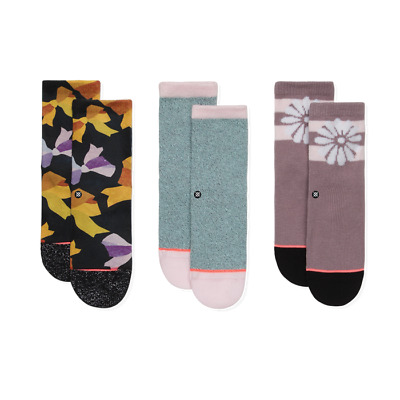 Infant Baby Boy STANCE Socks Conehead Box Set 3 Pairs Size 3-6 Months