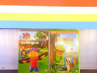 Lot of 2 Sid the Science Kid - Sid Wings It / Kermit's  DVD