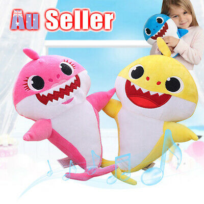 2019 Doll Toy Music Gift English Song Plush Singing Toys Baby Shark