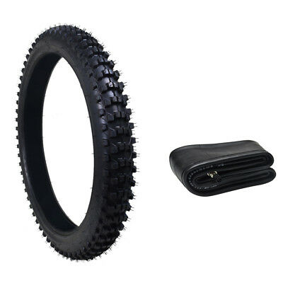 80/100-21 Knobby Front Tire Tyre+Tube 3.00x21 for Dirt Pit Trail Bike Motorcycle