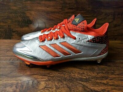 9b3f92a8148 Brand New Adidas Adizero Afterburner 4 Men s Size 9.5 Baseball Cleats Orange