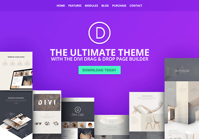 Divi Theme | Divi Builder for WordPress | Elegant Themes | Lifetime updates