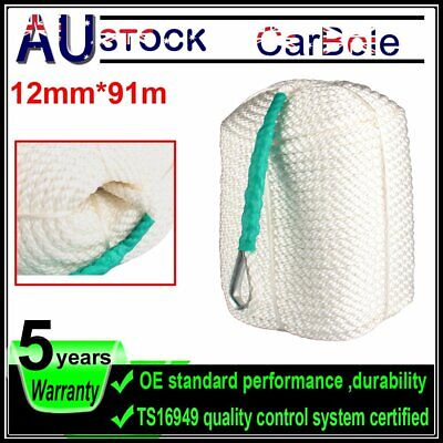 12mm*91mm Twisted Three Strand Nylon Anchor Rope Boat with Thimble