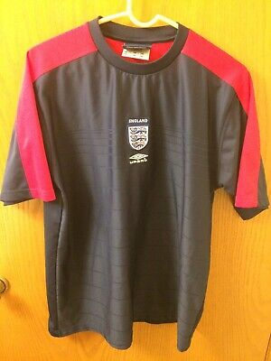 ee6c02f9d UMBRO England Jersey Short Sleeve Training Shirt Size Large L Soccer  Football