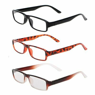 2413542abf1 LEOPARD PRINT READING Glasses Wayfarer Spectacles Specs Long Sighted ...